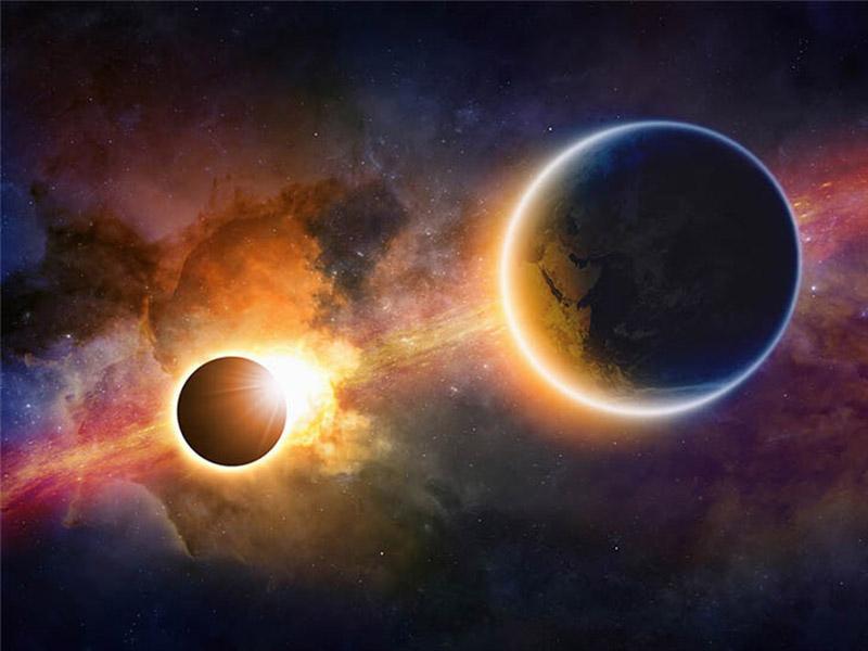 สุริยุปราคา เกิดขึ้นได้เพราะดวงจันทร์